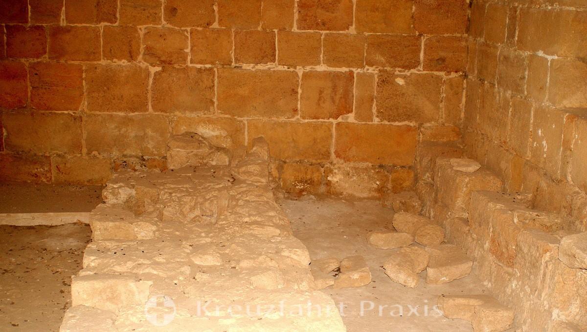 Crusader latrines