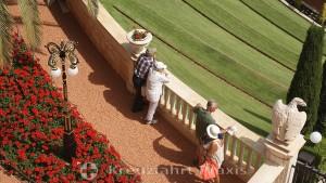 Admirers of the Bahai Gardens