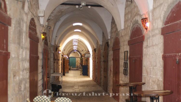 Akko - Gewölbe in der Altstadt