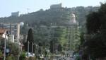 Haifa - Bahai Gärten von unten