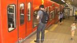 Haifa - Carmelit Bahn