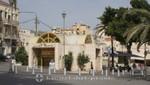 Haifa -Pariser Platz mit der Carmelit Bahn