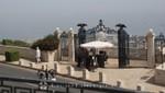 Haifa - Louis Promenade - Zugang zu den Bahai-Gärten