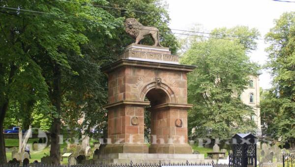 Halifax - Friedhof mit dem Sewastopol-Denkmal
