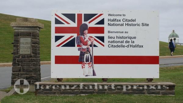 Halifax - Abzweig zur Halifax Citadel