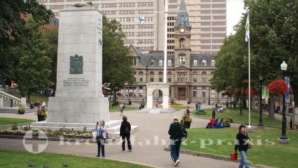 Halifax - Kriegerdenkmal auf der Grande Parade