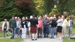 Halifax - Führung einer Besuchergruppe in den Halifax Public Gardens