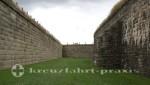 Halifax - Mauerwerk der Halifax Citadel