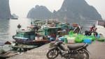 Am Fischereihafen von Halong City