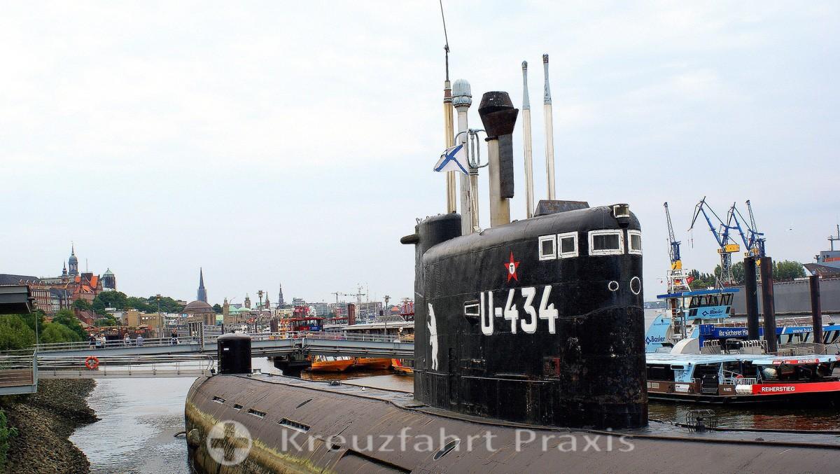 Museum submarine 434