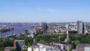 Hamburg-Altona from above