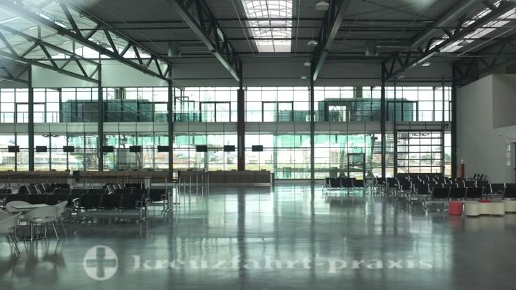 Hamburg - Cruise Terminal Steinwerder - Innenbereich