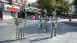 Der Beatles-Platz in St. Pauli