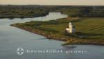 An der Elbe - Leuchtturm Julessand