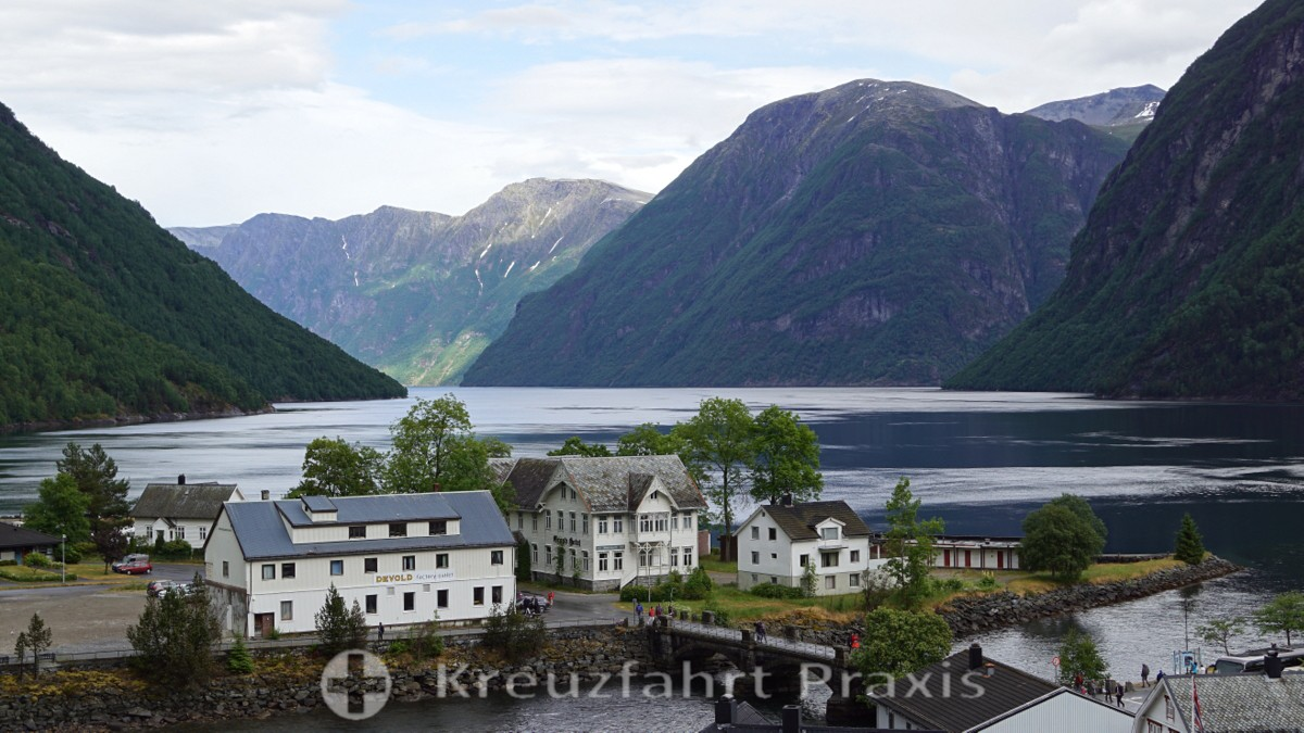 Hellesylt on the Sunnylvsfjord
