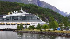 Hellesylt in the Sunnylvsfjord
