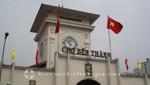 Der Uhrenturm des Ben Thanh Market