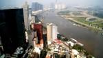 Blick auf den Saigon River