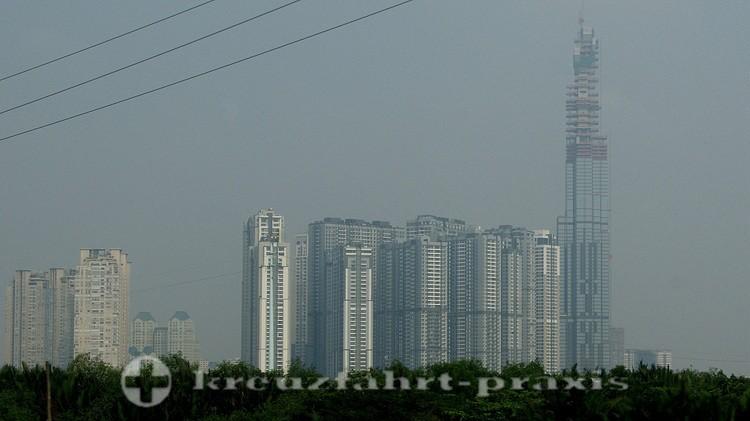Satellitenstadt vor Ho-Chi-Minh-Stadt
