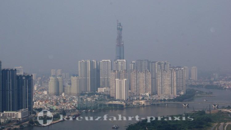Übersee Blick Auf Einen Palastbau Mit Park Weitere Rabatte üBerraschungen Asien Ak Saigon
