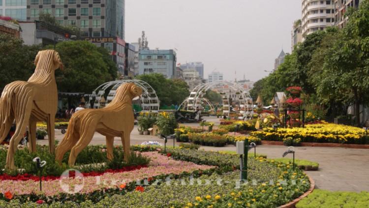Nguyen Hue-Promenade