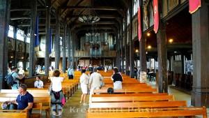 Sainte Catherine Church - nave