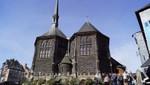 Sainte Catherine wooden church