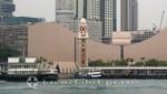 Fähre und Kowloon Clocktower
