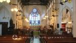 Hongkongs St. John's Cathedral - Kirchenschiff