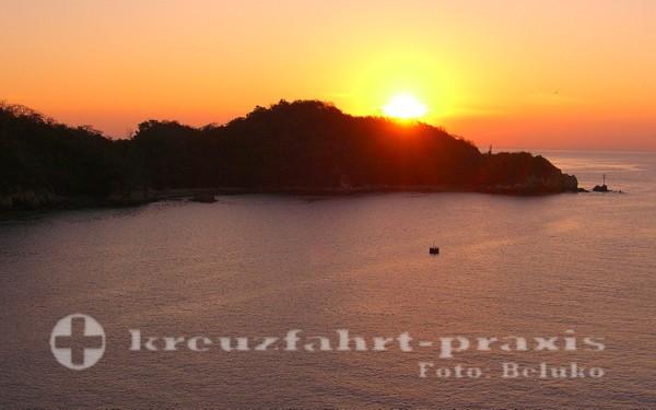 Huatulco - Sonnenuntergang