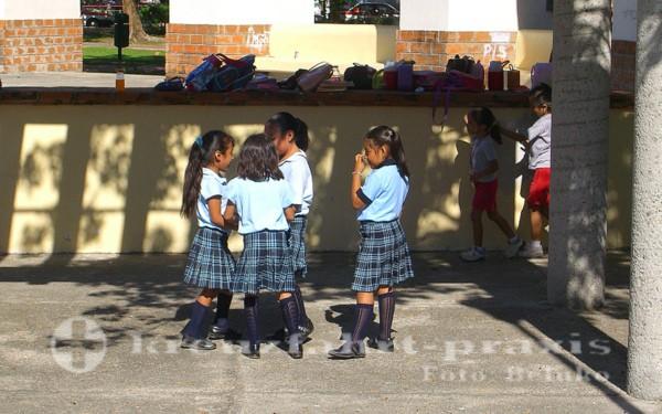 Huatulcos jüngste Einwohner