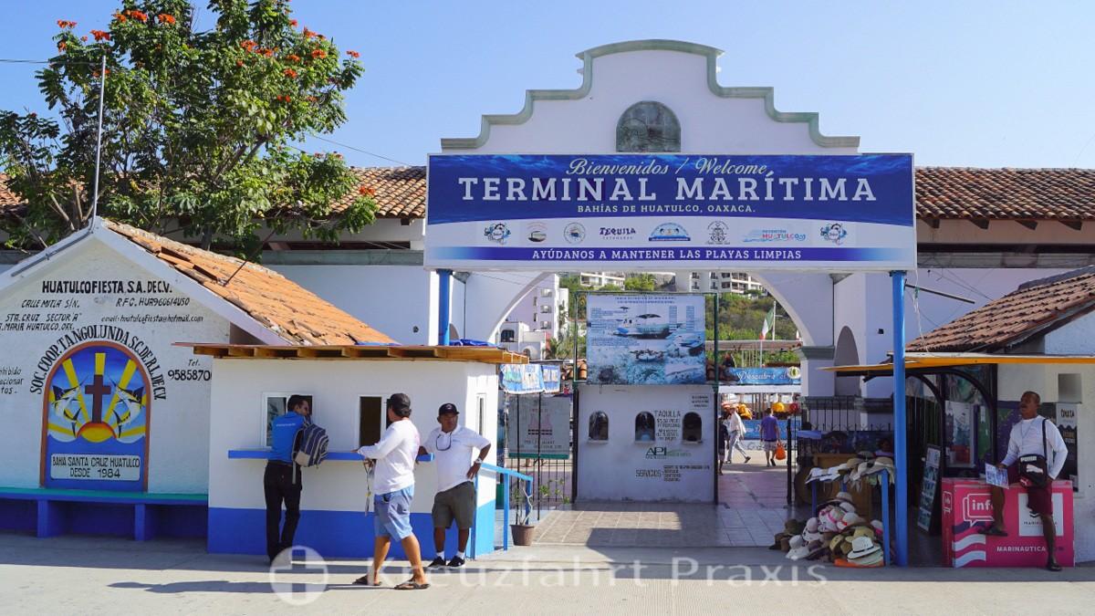 Santa Cruz Huatulco - Terminal Marítima