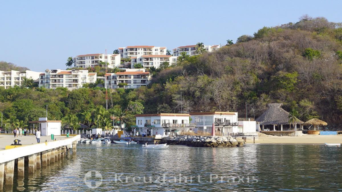 Hotel- und Appartementanlagen in Santa Cruz Huatulco