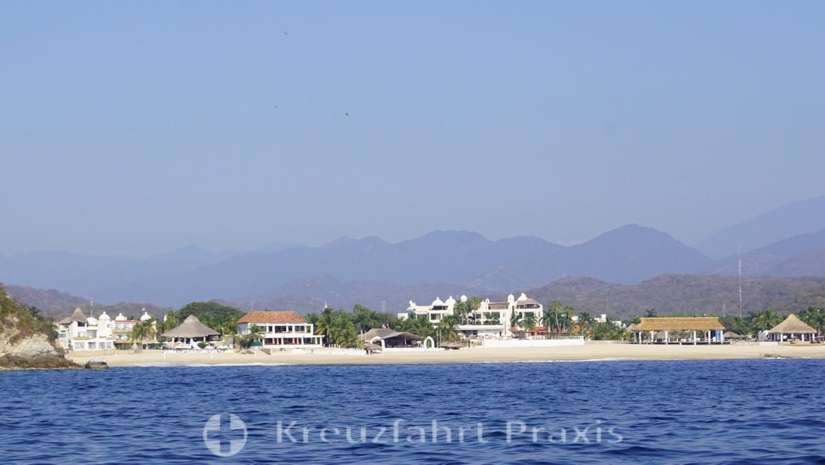 Huatulco  - Hotels in der Bahía Chahue