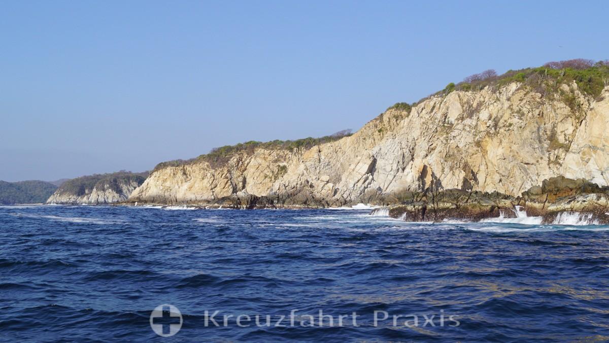 Die Felsküste des Nationalparks