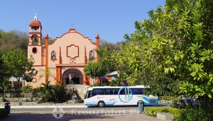 Die Kirche von La Crucecita