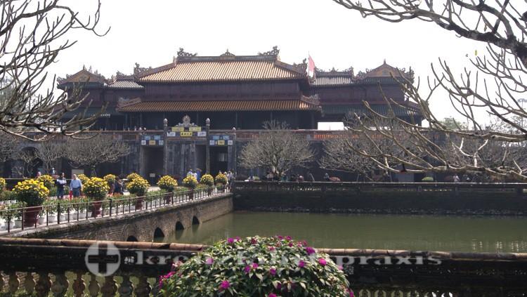 Haupttor der Zitadelle von Huế - Rückseite