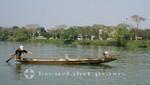Fischer auf dem Huong Giang-Fluss