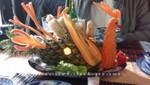 Salat als Kunstwerk