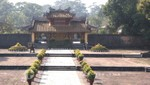 Ein Pavillon der Grabanlage