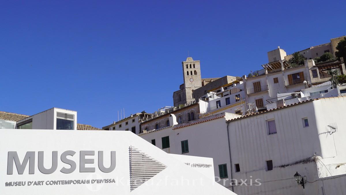 Ibiza Stadt - das Museum zeitgenössischer Kunst