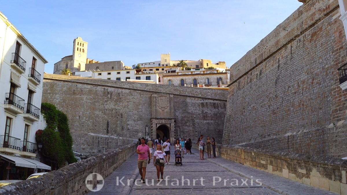 Festungsanlagen in Ibiza Stadt - Portal des ses Taules