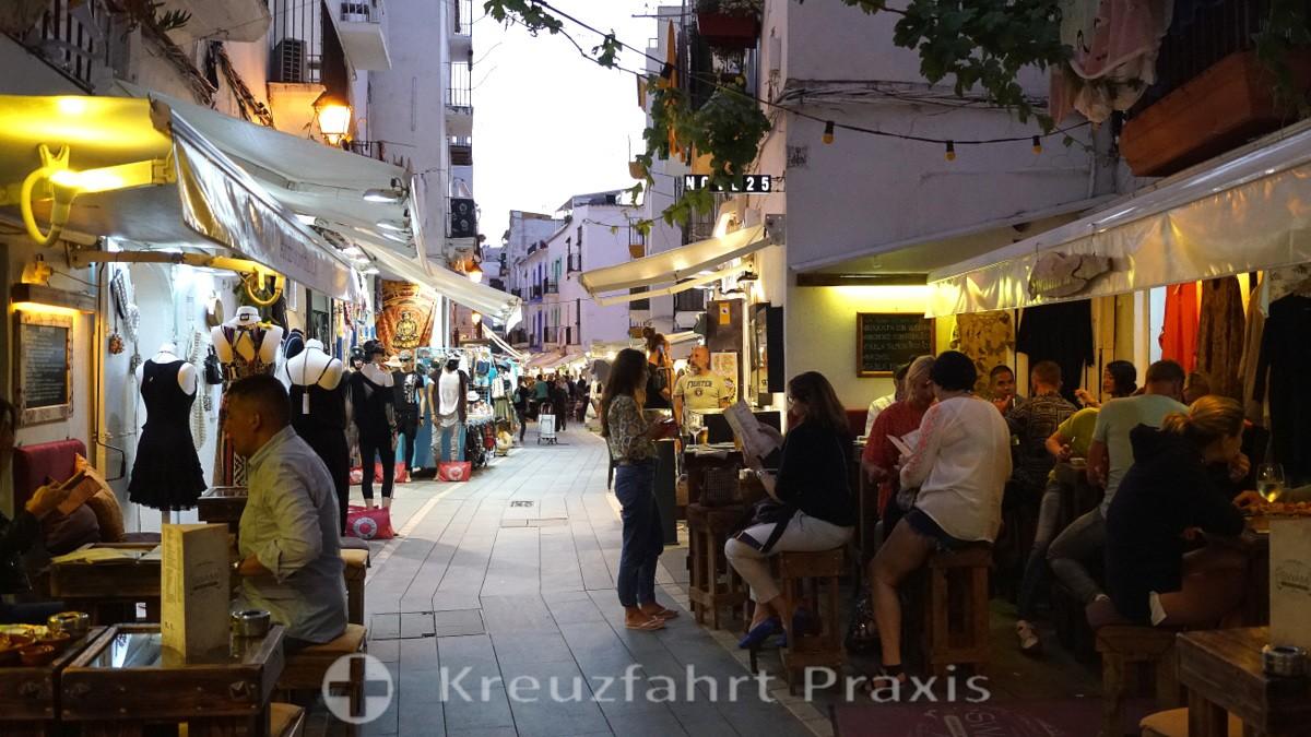 Abendstimmung in Ibiza Stadt