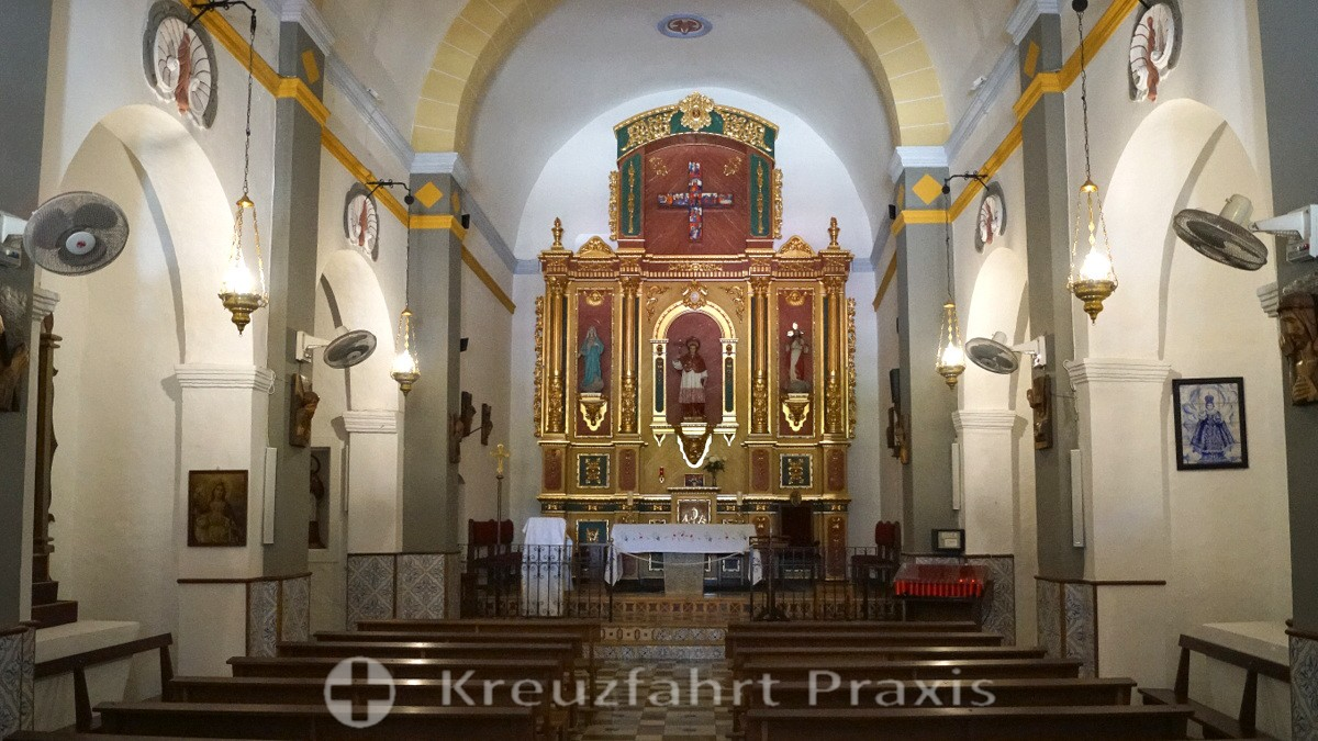Sant Carles de Peralta - Altar of the Iglesia de San Carlos