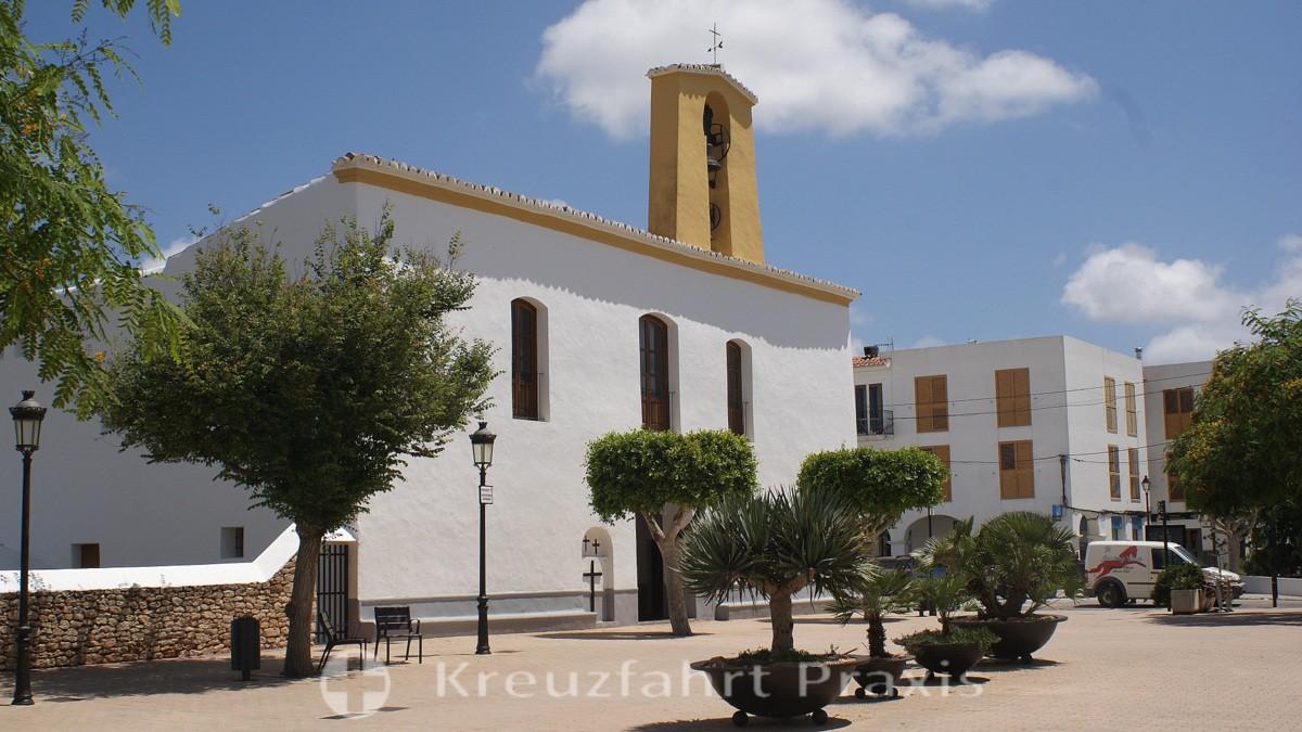 Santa Gertrudis de Fruitera - die Kirche