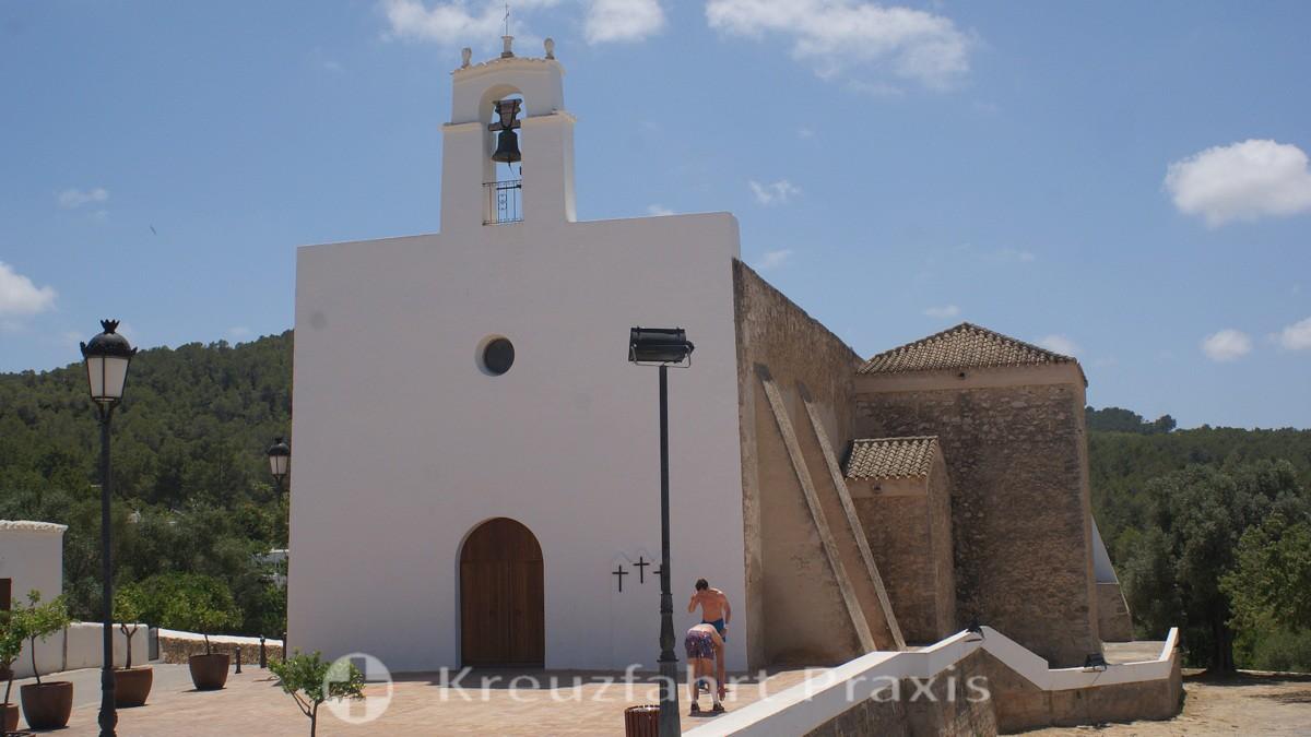 Sant Agustí des Vedrà - parish church