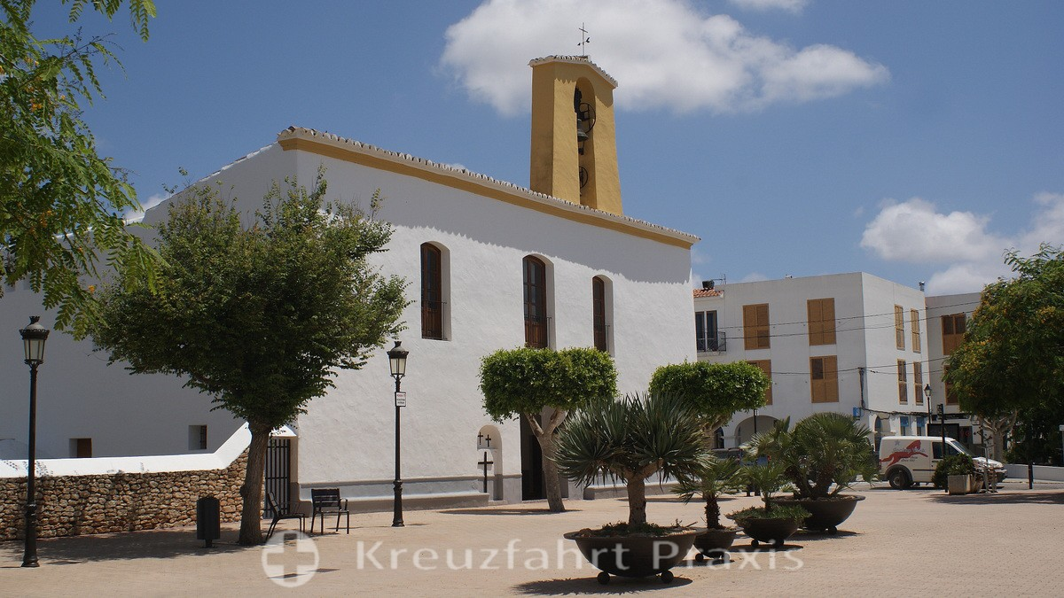 The parish church of Santa Gertrudis de Fruitera