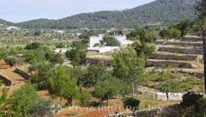 Landschaft vor Port de Sant Miquel