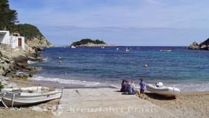 Strandabschnitt Port de Sant Miquel