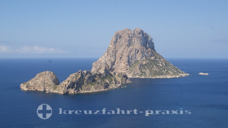 Es Vedra and Vedranell rock islands
